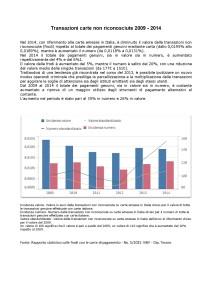 Transazioni carte emesse in Italia non riconosciute 2009 2014-001